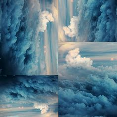 blue the color of our planet from far far away // knee deep in chic Our Planet, Far Away, Planets, Clouds, Deep, Mood, Chic, Blue, Outdoor