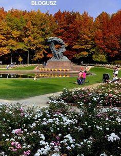 Lazienki park in Autumn # Warsaw