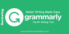 Check Spelling And Grammar With Free Google Chrome Extension!
