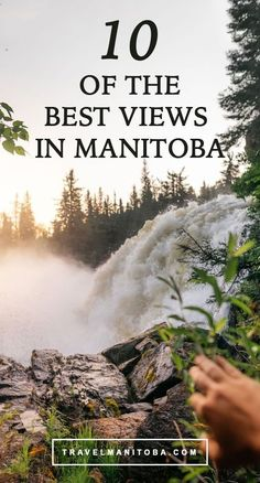 Since most people still think of Manitoba as having only flat, prairie landscape… Cross Canada Road Trip, Places To Travel, Places To Go, Travel Stuff, Canada Destinations, Canadian Travel, Visit Canada, Explore Travel, Day Trips