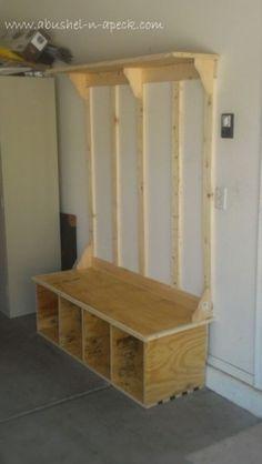 Bench Coat Rack - Foter