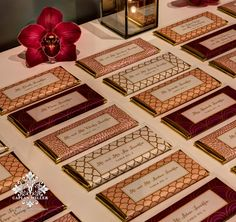 """Personalized Candy Bar Favors double as Wedding """"Escort Cards"""" 