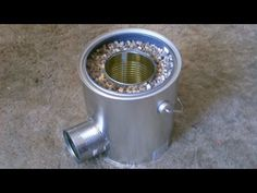 DIY Rocket Stove: tin cans and a paint bucket