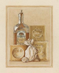 Savon Huile d'Olive - Laurence David Poster :: PicassoMio
