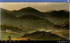 Un villaggio  vecino Brasov , Romania