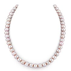 I've tagged a product on Zales: 8.0mm Pink Cultured Freshwater Pearl Strand Necklace - 17""