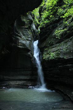 Thunder Canyon Falls - via ExploringNWArkansas.com