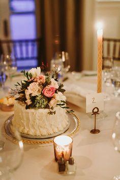 floral cake centerpiece   Paige Jones