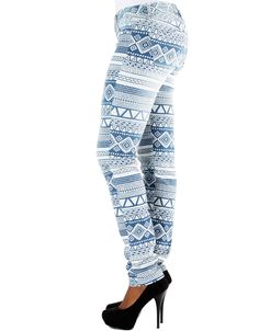Tribal Ombre Jeans