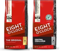$1 off any One Bag of Eight O'Clock Coffee Printable Coupon