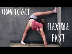 how to get flexible fast ♡ (follow along) - YouTube