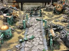 Battle over The Ruins of Dras'Shiel – Warhammer World. A new Age of Sigmar table!