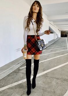 3a83e89e5db 230 Best Over the Knee Boots Outfit Ideas images in 2019   Over the ...
