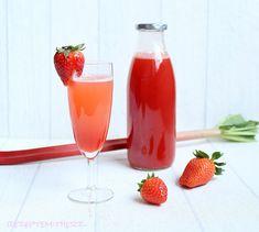 Rezepte mit Herz   ♥: Erdbeer - Rhabarber - Sirup