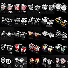 Superhero Cufflinks (Less than $5.00 including shipping)