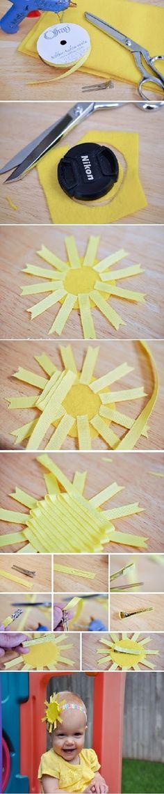 Sunny Ribbon Sculpture Tutorial (my baby) | diy craft TUTORIALS