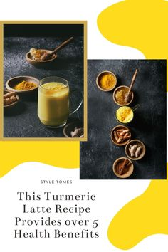 Turmeric lattes, otherwise known as golden milk lattes, can help with a number of skin and health issues. Happy Life Tips, Turmeric Milk, Ground Turmeric, Golden Milk, Latte Recipe, Wellness Fitness, Alternative Health, Fresh Ginger, Ice Cream Recipes