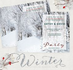 Winter theme invitat