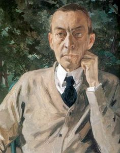 Serge Rachmaninoff  [Сергѣй Васильевичъ Рахманиновъ] (1873-1943), painting…