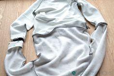 Tutorial: omkeerbare sweater met vaste boordjes - Nononsonsmoms