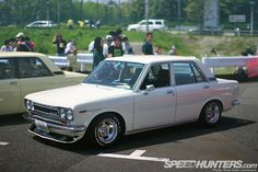 This is like the car my Dad raced: Datsun 510