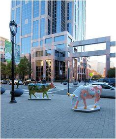 Raleigh NC - Downtown Art