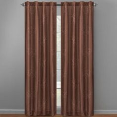"""One of my favorite discoveries at ChristmasTreeShops.com: 95"""" Claire Embroidered Back Tab Window Curtains, Set of 2"""