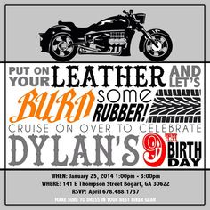 Biker Birthday Party   Kid's Birthday   Harley Davidson   Motorcycles   Ashley Rae Events   Athens Event Planner   Georgia Event Planner   KP Photography