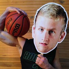 Senior Night ideas BIG HEADS Made these for my son's high school basketball senior night at our local PostNet store. Basketball Park, Spalding Basketball Hoop, Basketball Crafts, High School Basketball, Basketball Posters, Basketball Uniforms, Football Cheerleaders, Cheerleading, Football Moms