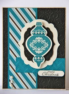 Indigo Ornament by ladybugdesigns - Cards and Paper Crafts at Splitcoaststampers