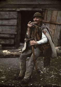 Wood cutter, Tatra mountains, Zakopane, Poland -   Rosanna Morris: October 2012