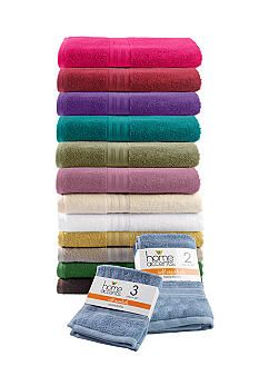 Home Accents® Soft Essentials Value Pack Towels #belk #home