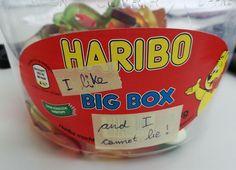 Neulich auf der Arbeit beim Haribo-Essen: Kreativität!