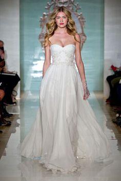 Reem Acra | Bridal Spring 2015 Love this style!