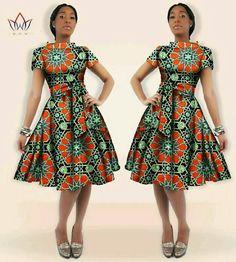 2017 African Batik Dress Winter Dress Women Traditional Dashiki Plus Size Midi Print Wax Cotton Dress For Girls African Dresses For Women, African Attire, African Wear, African Fashion Dresses, Summer Dresses For Women, African Women, Girls Dresses, Casual Dresses, African Print Dress Designs