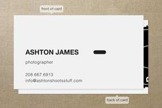 Manual Business Cards by jackmove at minted.com
