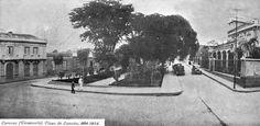 Caracas, Plaza España año 1924.-