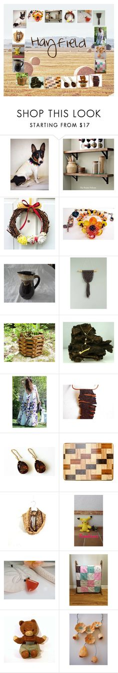 """Hayfield: Handmade & Vintage Rustic Gifts"" by paulinemcewen on Polyvore featuring interior, interiors, interior design, home, home decor, interior decorating, Rustico, rustic, vintage and country"