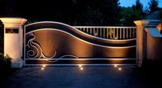 30 Modern Swing Gates Design