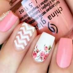 + Hottest Manicure Ideas For Spring Nails ★ See more: http://glaminati.com/spring-nails-designs/