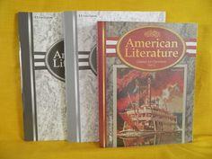 ABeka American Literature Book & Student Test w. Key LN, Homeschool or School #TextbookBundleKit