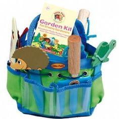 Kids Gardening Tool Set - Blue: Amazon.co.uk: Toys & Games