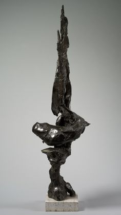 Ritual Tower I, 1959-1960 James Wines (American, 1932-) bronze, Overall: h. 198 cm (77 15/16 in.). Contemporary Collection of The Cleveland Museum of Art 1963.149