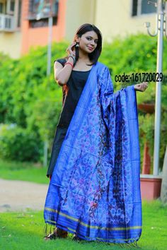 """Grab these colour full """"ikat silk dupattas"""" elegance to your apperance and help to hold your style and look together.... Price:2950/- Wash care : Normal wash (for trade inquiries please contact our whatsapp no  Single / Retail Customer ...please contact 8099433433 B2B/Resellers/Bulk buyers...please contact 8801302000)"""