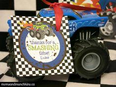 Monster Truck Birthday Party Ideas - Moms & Munchkins