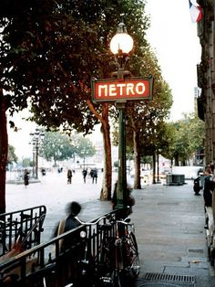 Métro Station    Photograph by John Kernick    The extensive Métro network, many with art nouveau station signs, is your magic carpet to daily neighborhood life.