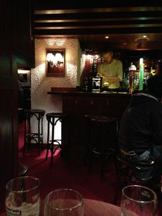 The Dawson Lounge in Dublin - The World's smallest Pub!