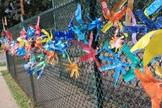 Chain Link Fence Art | Share