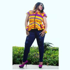 Afrokulcha shop online at www.afrokulcha.com #afrokulcha #africanfashion African Print Clothing, Ankara, African Fashion, Capri Pants, Shopping, Clothes, Outfit, Capri Trousers, Clothing