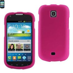 Reiko Rubberized Protector Cover Samsung Galaxy Stellar I200 Hot Pink